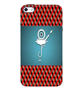 PrintDhaba Cartoon D-4519 Back Case Cover for APPLE IPHONE 4S (Multi-Coloured)