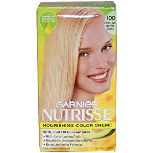 Amazon.com : Garnier Nutrisse Nourishing Color Crème, 100 Extra-Light