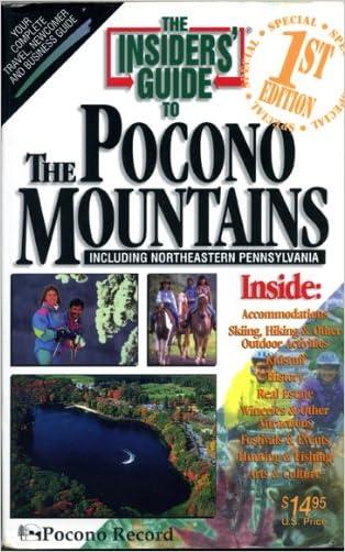 Pocono Mountains (Insiders' Guide to the Pocono Mountains)