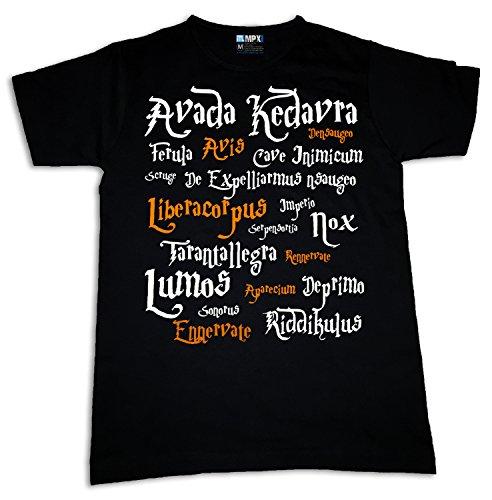 Harry Potter Spells Womens T-shirt