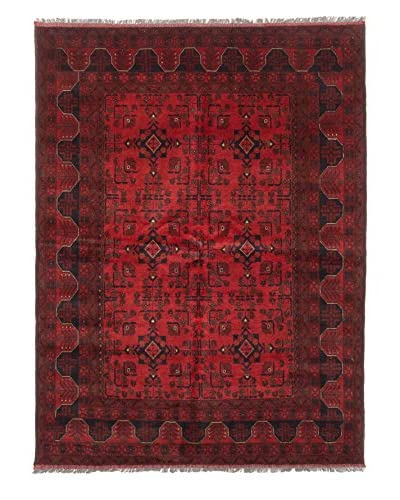 eCarpet Gallery One-of-a-Kind Hand-Knotted Khal Mohammadi Rug, Red, 5' 9 x 7' 8