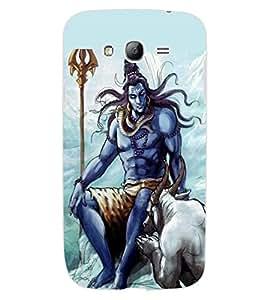 ColourCraft Lord Shiva Design Back Case Cover for SAMSUNG GALAXY GRAND NEO PLUS I9060I