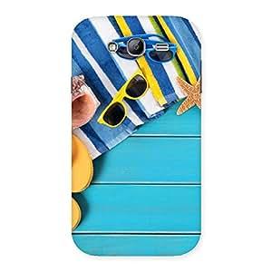 Impressive Cool Beach Print Back Case Cover for Galaxy Grand