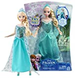 "Elsa ~11.5"" Disney Frozen Musical Magic Fashion Doll"