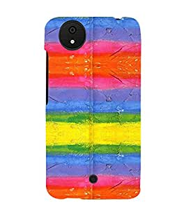 PrintVisa Modern Art Pattern 3D Hard Polycarbonate Designer Back Case Cover for Micromax Canvas Android A1