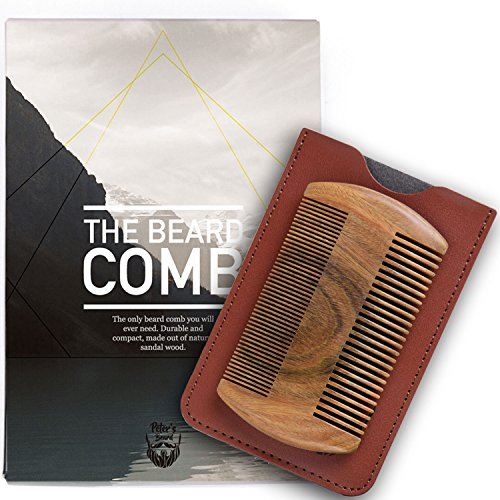 premium-wooden-beard-comb-natural-sandalwood-no-static-handmade-comb-fine-coarse-tooth-perfect-for-b