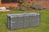 Wasserdichte Tasche für Gartenmöbelauflagen 125 x 32 x 50 cm.