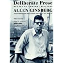 Deliberate Prose: Selected Essays 1952-1995