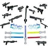 """LEGO® STAR WARS / Little Arms : Ultimate Weapon Set """"2011"""" avec laser 5 épées, 2 force la foudre, 2 lance-grenades et et les armes blaster"""