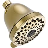Delta Faucet 52625-PB-PK Universal Showering Components, 7-Setting Showerhead, Polished Brass