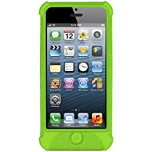 Amzer Silicone Skin Jelly Case For IPhone 5 (Green)