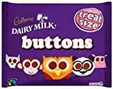 Cadbury Dairy Milk Chocolate Buttons Treatsize 187 g (Pack of 5)