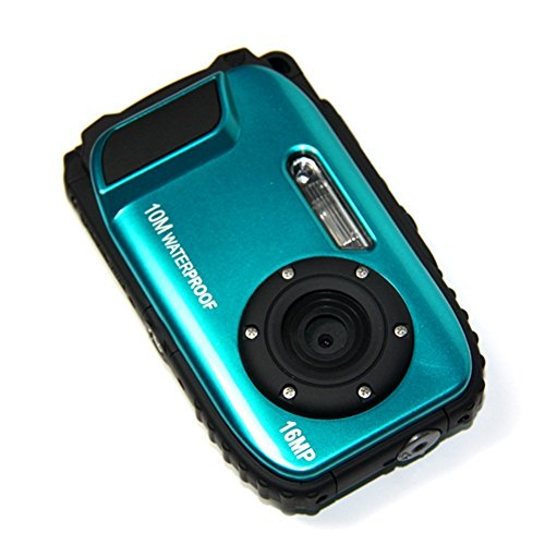 PowerLead Gapo G051 2.7 Inch LCD Cameras16 MP Digital Camera Underwater 10m Waterproof Camera+ 8x Zoom(blue) (Best Underwater Digital Camera compare prices)