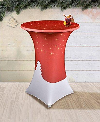 Stretch-Tischhusse-mit-edlen-Designs-fr-Stehtisch-70-85-cm-Durchmesser-Weihnachten