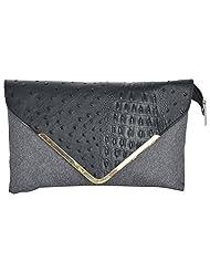 Bhawna Enterprises Leather Adjustable Strap Women's Handbag (BE_SMGR34, Green)