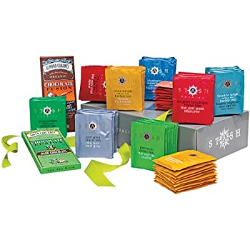 Stash Tea Favorites and Chocolates Gift Pack