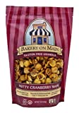 Bakery On Main Gluten Free Granola, Nutty Cranberry Maple, 12-Ounce Bags (Pack of 6)