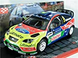 Ford Focus Wrc 2008 Rally Car Model Hirvonen 1/43 Scale Packaged Issue K8967Q