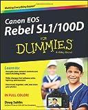 Doug Sahlin Canon EOS Rebel SL1/100D For Dummies