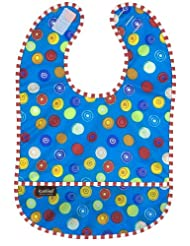 Kushies Waterproof Blue Circle Infant