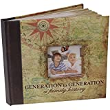 Memory Book/Photo Album - Generations to Generation, A Family History. A Wonderful Way to Build Memories. Bring a Story to Life with Special Memories and Photos. Gift Idea, Reminiscence Album