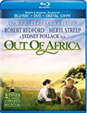 Out of Africa [Blu-ray/DVD Combo + Digital Copy]