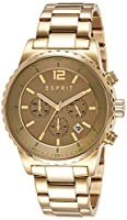 Esprit Analog Gold Dial Men's Watch - ES108231002