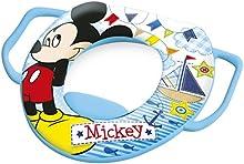 Lulabi Disney Mickey Reductor inodoro Suave con asas, azul