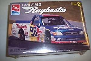 AMT Ertl 1:25th Scale Ford F150 Raybestos Race Truck Level 2 Model Kit