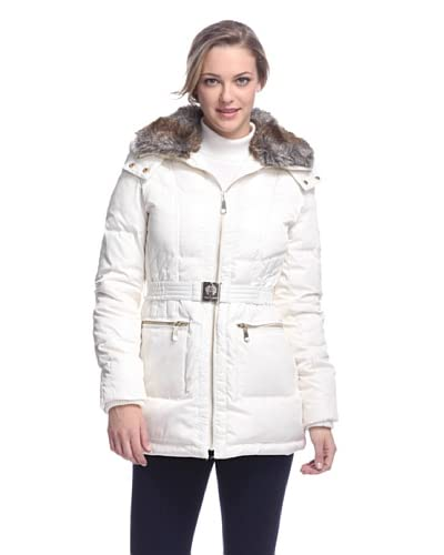 Vince Camuto Women's Belted Down Jacket
