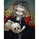 """Les Vampires Les Cranes by Jasmine Becket-Griffith 10""""x8"""" Art Print Poster by Bruce McGaw"""