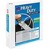 Avery Heavy-Duty View Binder with 2 Inch  One Touch EZD Ring, White, 1 Binder (79792)