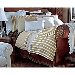 Lauren by Ralph Lauren Rue Des Artistes Ticking Stripe FULL/QUEEN Duvet Cover