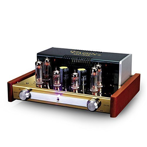 Best Deals! YAQIN MC-84L EL84 x4 Class A Vacuum Tube Integrated Amplifier