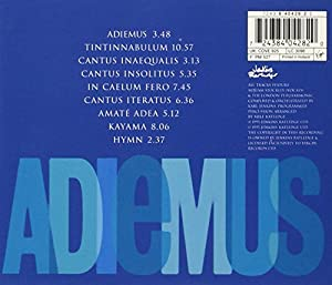Adiemus: Songs of Sanctuary from EMI
