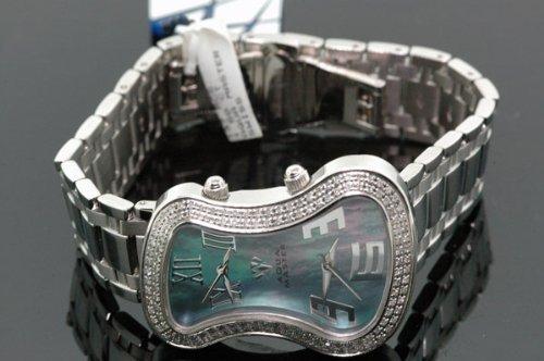 AQUA MASTER - Reloj de pulsera mujer, color blanco
