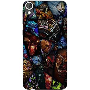 DOTA 2 HEROES BACK COVER FOR HTC 820