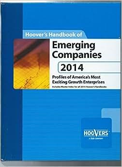 Hoover's Handbook Of Emerging Companies 2014