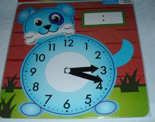 Art Skills! - Learning Clock - Styles Vary - 1