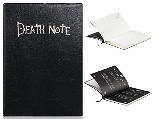 aFirst Anime Death Note Cosplay Notebook & Feather Pen - 1