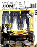 Buy Low Priced McCall's 853 Sewing Pattern Home Decorating Kitchen Curtains Awning Appliance Covers – Discount Shopping