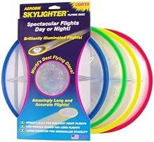 Aerobie Disco volador iluminado Skylighter LED Frisbee