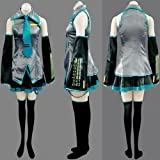 Anime Vocaloid Miku Hatsune Cosplay Costume with accessory L Size Stylish Clothing