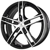 "Verde Custom Wheels Protocol Black Wheel with Machined Lip (15x7""/5x115 mm)"