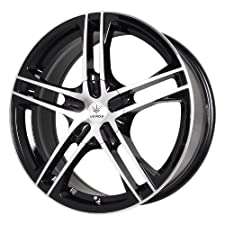 Verde Custom Wheels Protocol Black Wheel with Machined Lip (18×7.5″/5×4.5″)