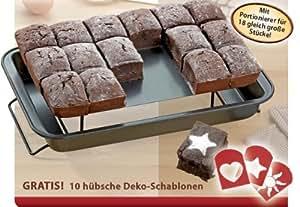 "TV das Original - ""Perfect Brownie"" Backblech 3 in 1"