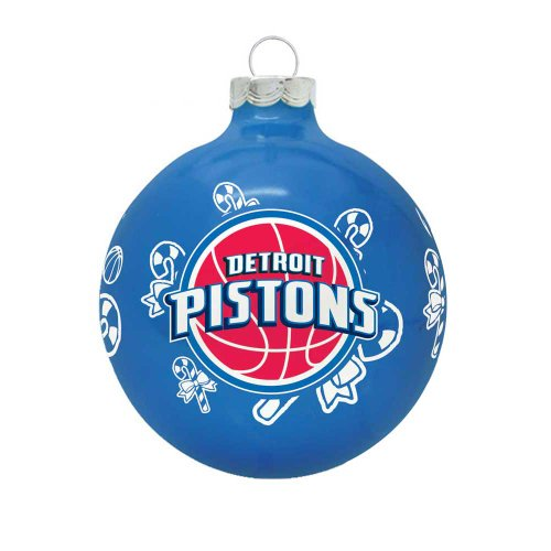 NBA Detroit Pistons Traditional 2 5/8″ Ornament