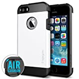 SPIGEN SGP SGP10493 Tough Armor Case for iPhone 5/5S - Carrying Case - Retail Packaging - Smooth White