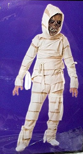 Totally Ghoul Mummy Costume, Boys Size Medium, 8-14 (Kids Mummy Costumes)