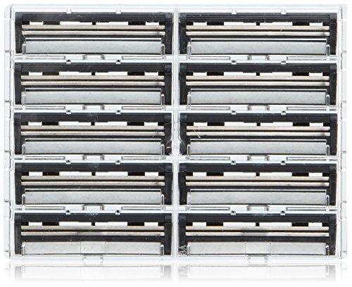100 Personna Twin Pivot Plus Blades for Trac2 and Atra Razors (Gillette Track 2 Razor Blades compare prices)